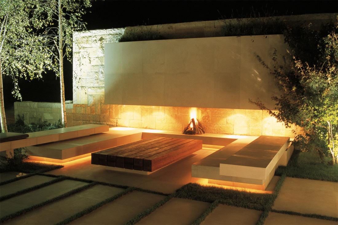Освещение места отдыха
